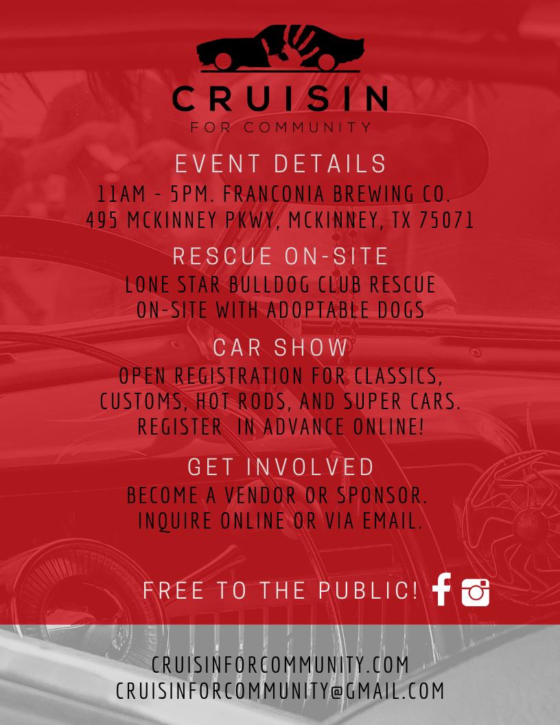 Cruisin' For Community