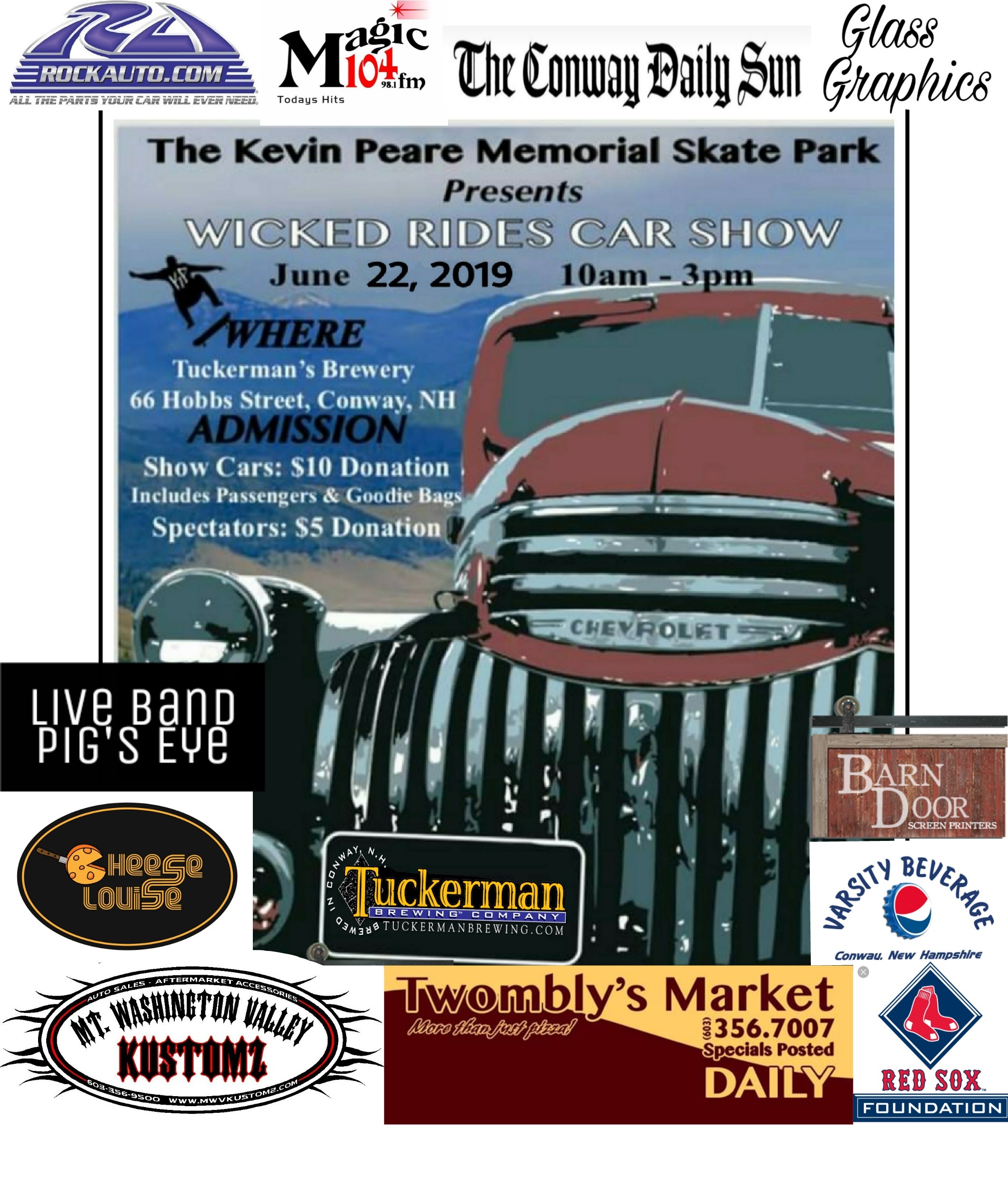 2nd Annual Wicked Rides Car Show