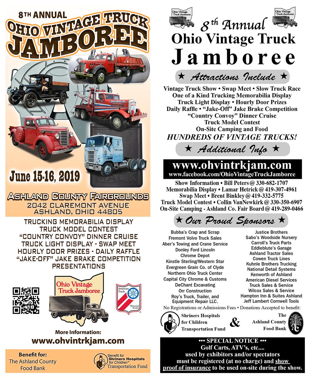 8th Annual Ohio Vintage Truck Jamboree   Car Show Radar